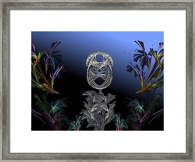 The Shell Framed Print by Ricky Kendall
