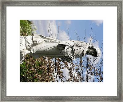 The Shepard Framed Print by Andrea Drake