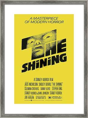 The Shining, Poster Art, 1980 Framed Print by Everett