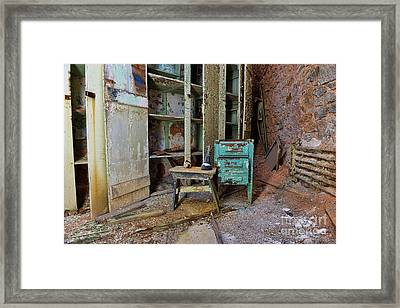The Shoemaker Framed Print by Paul Ward