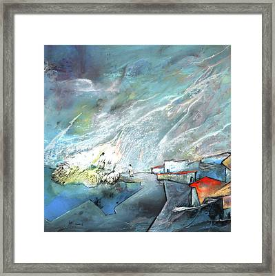 The Shores Of Galilee Framed Print by Miki De Goodaboom