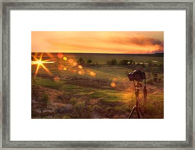 The Significance Of Light Framed Print by Douglas Barnard