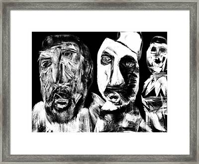 Framed Print featuring the drawing The Significant Other by Rc Rcd