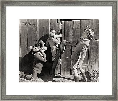 The Silent Flyer, 1926 Framed Print by Granger