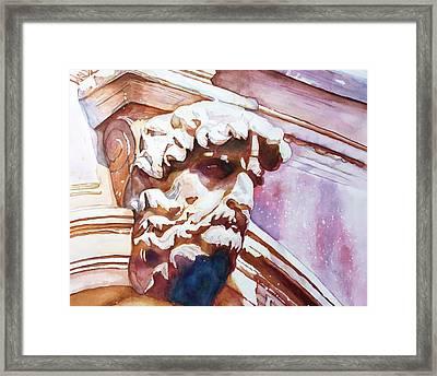 The Silent Venetian Framed Print