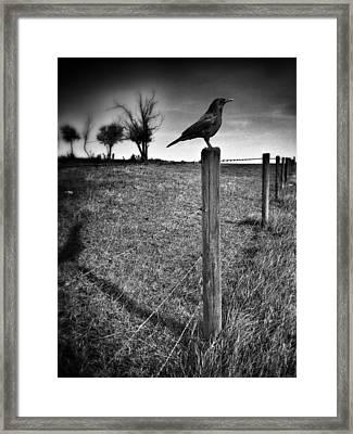 The Silent Warn  Framed Print by Jerry Cordeiro