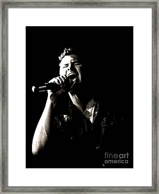 The Singer Framed Print by James Yang