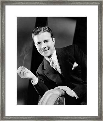 The Singing Marine, Dick Powell, 1937 Framed Print