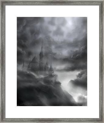 The Skull Castle Framed Print