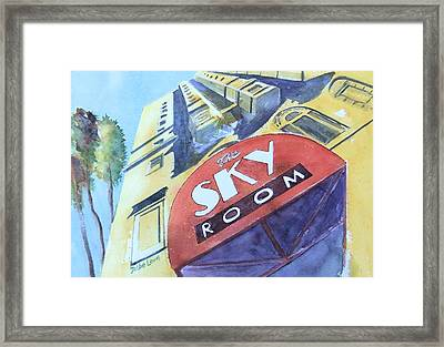 The Sky Room Framed Print