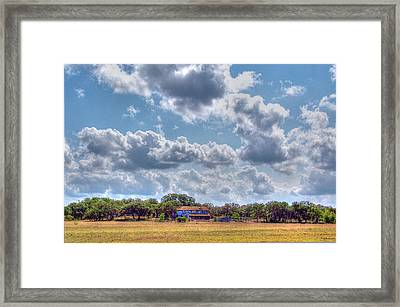 The Sky's The Limit Framed Print by Sarah Broadmeadow-Thomas