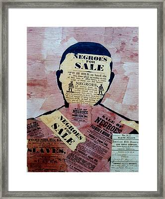 The Slave Framed Print by  Andy Tate