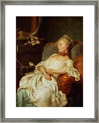 The Sleeper Framed Print