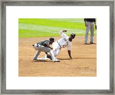 The Slide Framed Print by Chad Thompson