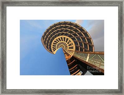 The Snail - Archifou 30 Framed Print by Aimelle