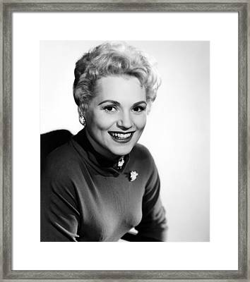 The Solid Gold Cadillac,judy Holliday Framed Print
