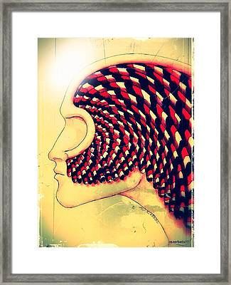 The Soul Is A Parcel Of The Infinite Distant Framed Print by Paulo Zerbato