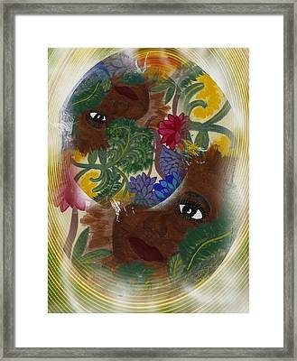 The Soul Framed Print by Ruth  El
