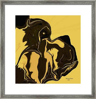 The Soulful Boxer Framed Print by Maria Urso