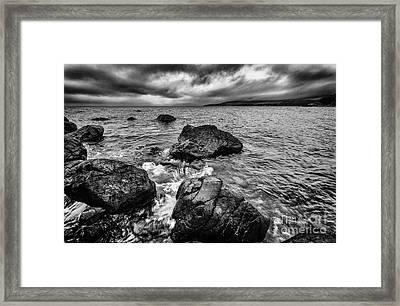The Sound Of The Waves Framed Print by John Farnan