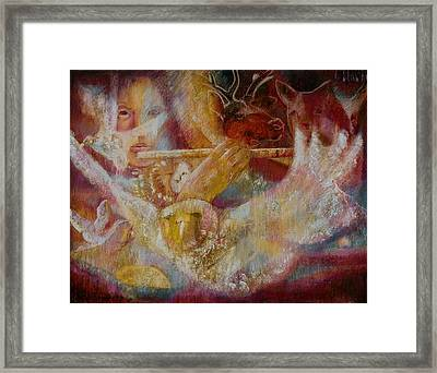 The Sound That Gathers All To The One Framed Print