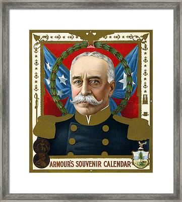 The Spanish American War. Portrait Framed Print by Everett