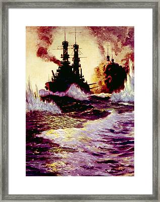 The Spanish American War, U.s Framed Print by Everett