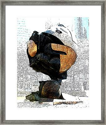 Framed Print featuring the photograph The Sphere by Anne Raczkowski