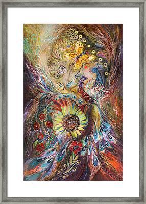 The Spirit Of Flowers Framed Print by Elena Kotliarker