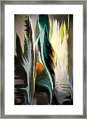 The Spiritual Gathering Framed Print by Sherri's Of Palm Springs