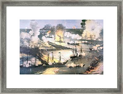 The Splendid Naval Triumph Framed Print by Everett