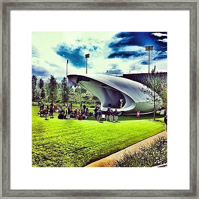 The Stage At #london2012 #olympics Framed Print by Joey El Burro