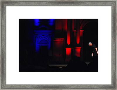 The Stage Manager Framed Print by Gunnar Boehme