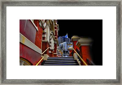 The Stairs To Higher Education Framed Print