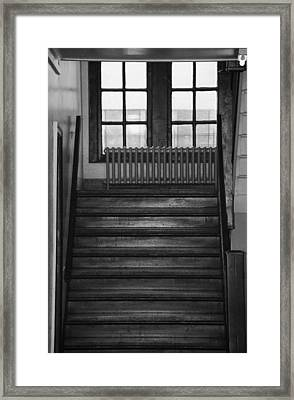 The Stairway Framed Print by Rob Hans