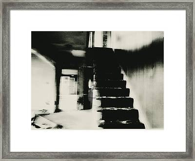 The Stairway Framed Print by Trish Clark