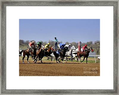 Framed Print featuring the photograph The Starter by Nava Thompson