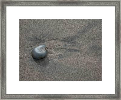 The Stone Framed Print by Lourdan Kimbrell