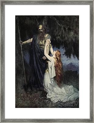 The Stories Of Wagner's Operas Framed Print by  J Walker McSpadden