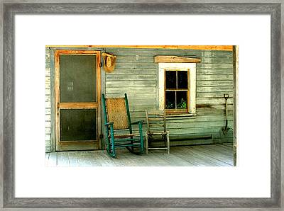 Framed Print featuring the photograph The Stories They Could Tell by Myrna Bradshaw
