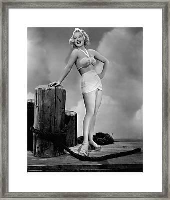 The Stork Club, Betty Hutton, 1945 Framed Print