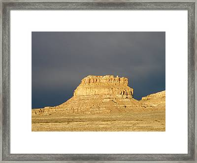 The Storm Has Passed Framed Print