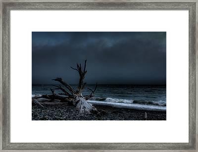 The Storm Framed Print by Matt Dobson