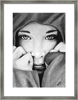 The Storm Siren Framed Print