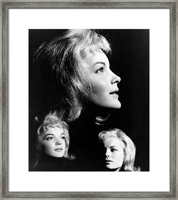 The Story Of Vickie, Romy Schneider Framed Print by Everett
