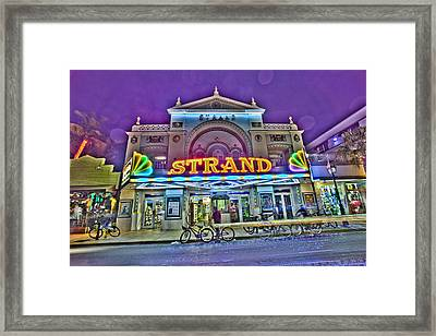 The Strand Framed Print
