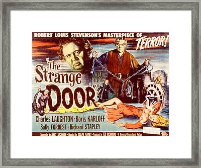 The Strange Door, Charles Laughton Framed Print