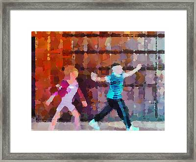 The Striders Framed Print by Steve Taylor