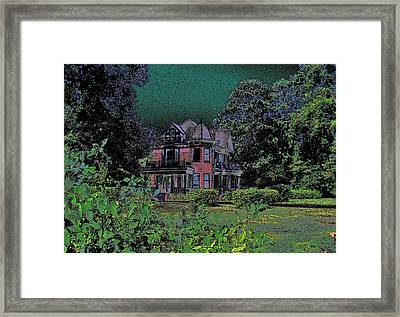 Framed Print featuring the photograph The Stuff Of Fairy Tales by Louis Nugent