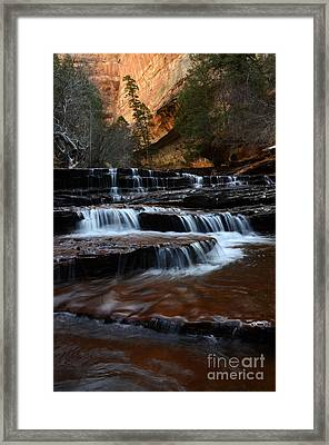 The Subway North Creek Framed Print by Bob Christopher